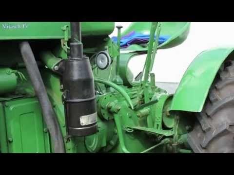 Oldtimer Traktoren Deutz Bj.1949 Ansicht Hersteller:      Deutz Baujahr:        1949 Zulinder:        1 Leistung(PS) 11