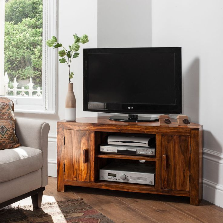 1000 Ideas About Tv Stand Corner On Pinterest Wood