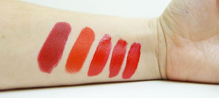 Top 5 Red Lipsticks #redlipstick