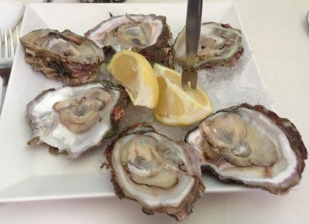 Wild Mossel Bay Oysters, South Africa - Sweet and Canteloupe like in flavor: http://clamsahoy.com
