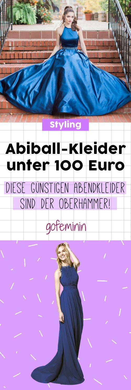 DIESE Abiball-Kleider kosten unter 100 Euro und sind atemberaubend schön! #abiballkleider #abiball #günstigeKleider
