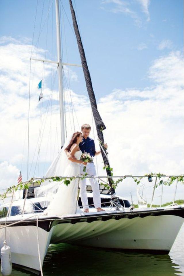 Pin By Resort Adventure Centers On Adventure Center Boat Wedding Boat Wedding Ceremony Sailboat Wedding