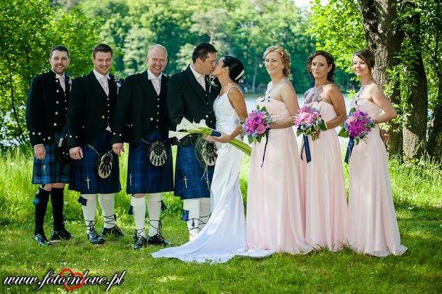 Scotish wedding. Wedding planner www.eventbyev.pl