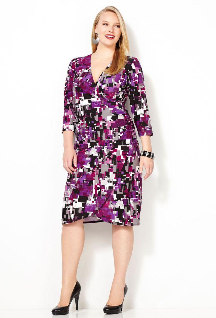 Mejores 927 imágenes de plus size dress en Pinterest   Vestir tallas ...
