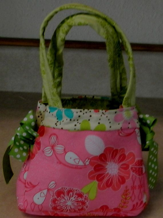 The Itty Bitty Bow Bag by CrossMyHeartBags on Etsy, $18.00