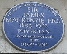 Sir James Mackenzie GP and cardiologist Almost single handedly  introduced ECG into clinical practice from his modest General Practice in Burnley
