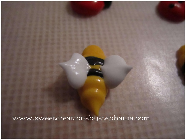 Sweet Creations By Stephanie Tutorial Royal Icing Bumble Bees