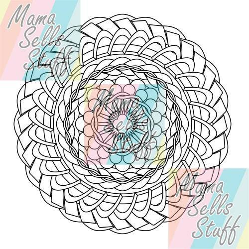 Best 25 Mandala Printable Ideas On Pinterest