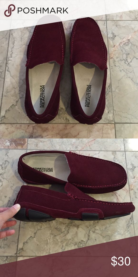 Kenneth Cole Men's Shoes Kenneth Cole Reaction. Men's Slip On. Burgundy. Only worn once. In great condition. Kenneth Cole Reaction Shoes Loafers & Slip-Ons
