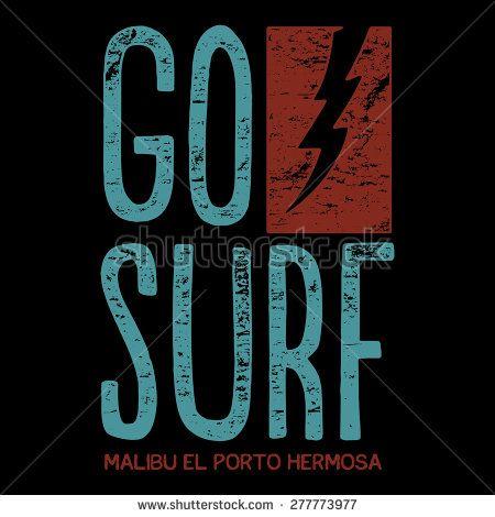 Vintage California surf typography, t-shirt graphic , vector illustration