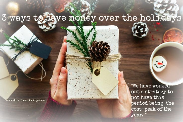 We have worked out a strategy with 3 simple steps to save money during the holidays. This way we are continuing towards our goal of financial independence in a few years! #FIRE #savemoney #christmas #holidays #newyears #saving #savinggoals #financialfreedom #financialindependence #frugalliving #earlyretirement #nodebt
