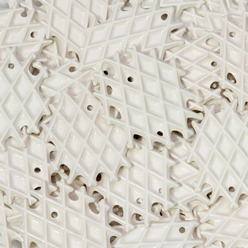 an amount of small NEOLA waffles by Arago Design