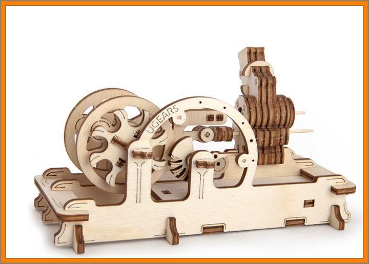 Výukové stavebnice - spalovací motor, hračka. SKLADEM na eshopu www.hrackyproklukyaholky.cz