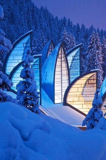 Tschuggen Grand Hotel and Spa, Arosa Switzerland