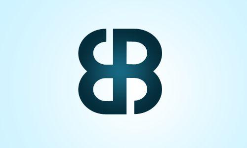 121 best logo images on pinterest brush lettering brand for Bb logo