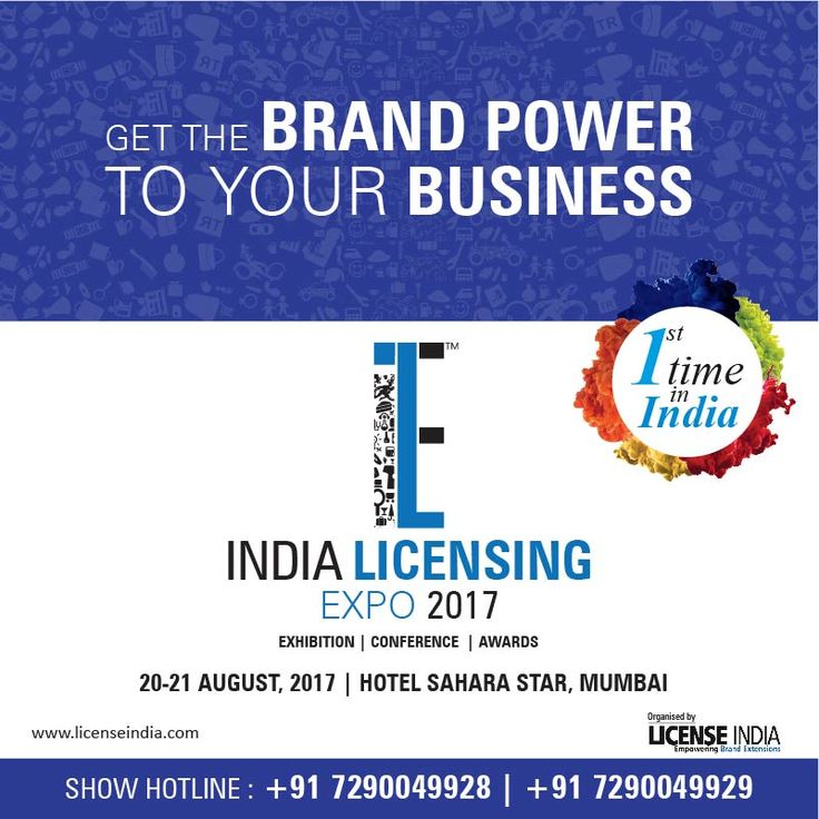 Get ready to experience the #brand licensing power for 1st time in #India #ILE17 #ile2017 #makeinindia #expo #merchandise #indialicensing #global #product #exhibition #conference #awards