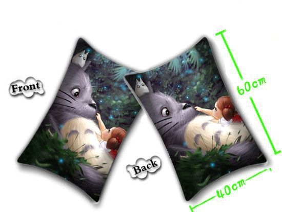 Totoro Pillow Cushion 60cm with pillow insert included