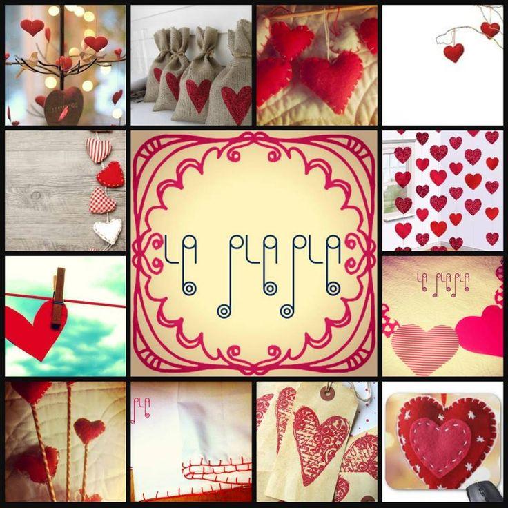 Decoración corazones. Souvenirs. Centros de mesa. Cupcake. Guirnaldas.