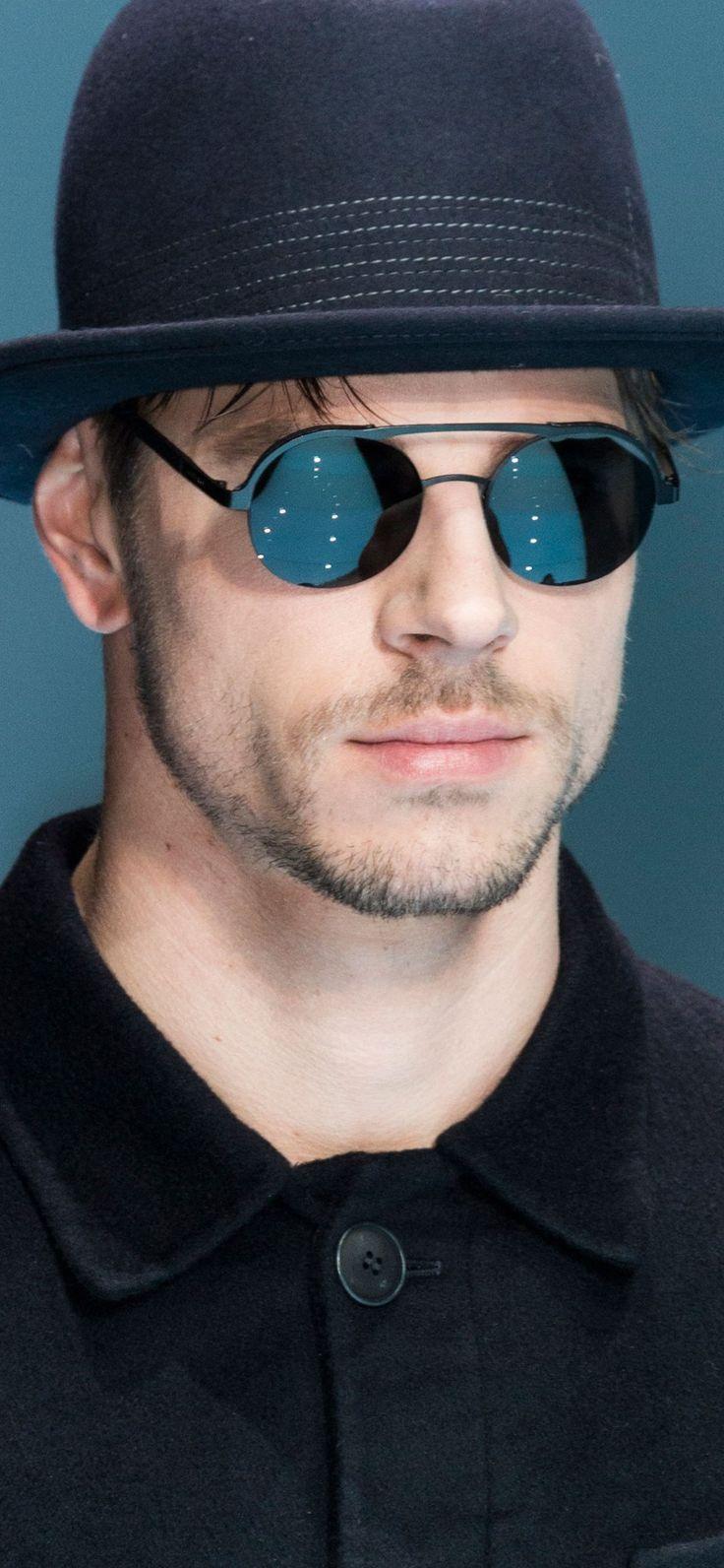 a2d07087ec79 Armani. Mens Giorgio Armani Round Sunglasses