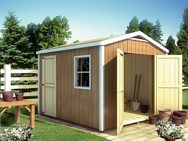 gable shedplan 90029 this simply designed shed offers plenty of storage space in a