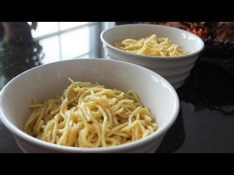 """Kick ass """"secret kitchen"""" garlic noodles recipe from the An Family restaurants in San Francisco... mmmmm"""