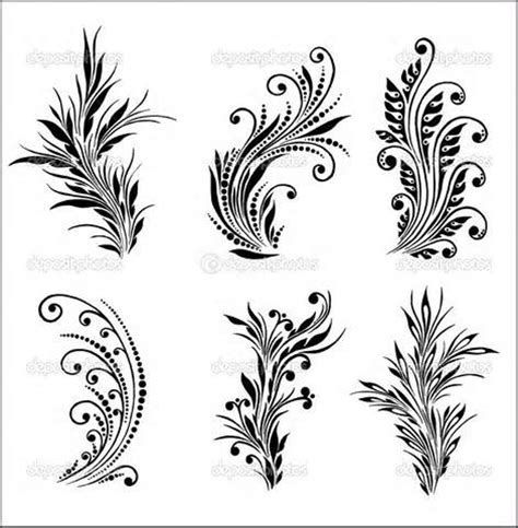 Henna Tattoo Designs Printable Page