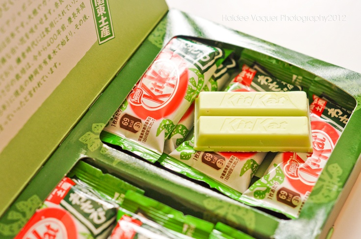 Kitkat Wasabi fom Japan. Insanely good!