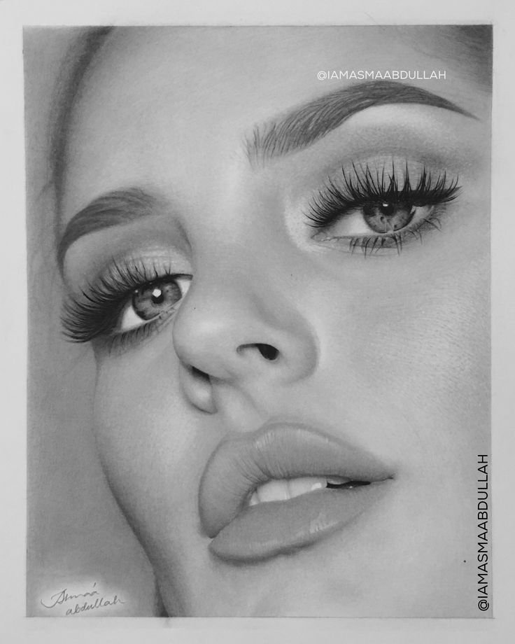 FINISHED! Chloe Morello Drawing Portrait By Asma'a Abdullah.  - Charcoal and pencil on fabriano paper smooth. Check my instagram for more details about this drawing: @iamasmaabdullah 🖤 Let me know what you think!  . . #Photorealism #art #artist #asmaabdullahart #chloemorello #mua #photorealistic #hyperrealistic #charcoaldrawing #pencildrawing #charcoal #pencil #details #artwork #drawingonpaper #selftaught
