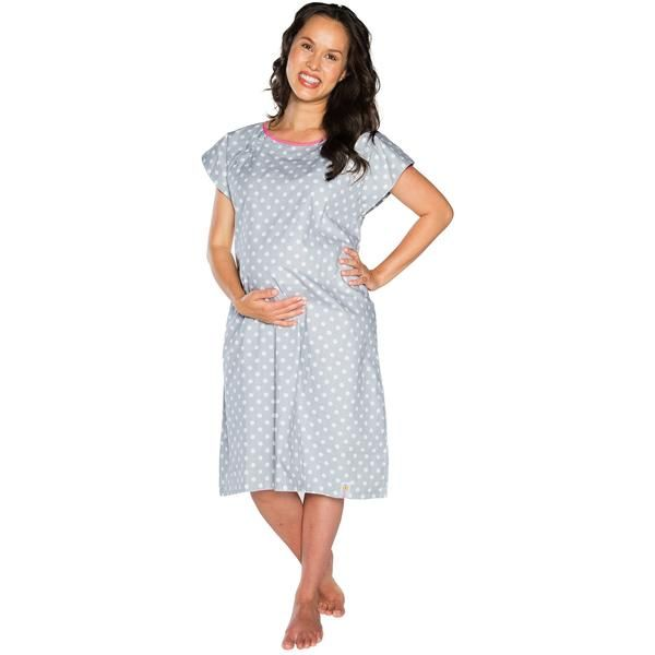 Lisa Gownies Labor & Delivery Gown - milkandbaby.com