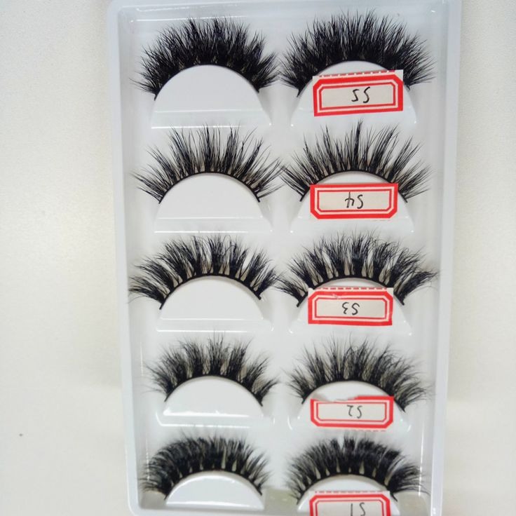 ==> [Free Shipping] Buy Best 5styles/box High Quality 3D Natural False Fake Eyelashes Mink Hair Handmade Eye Lashes Strengthen The Eyelash Online with LOWEST Price | 32819000161