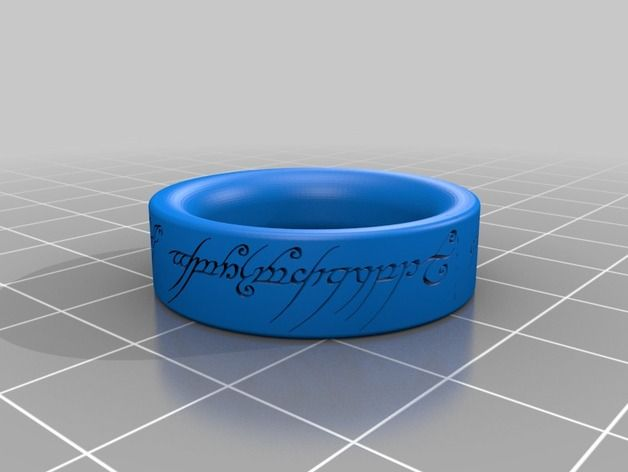 Sauron's Ring - The Lord of the Rings by Katan - Thingiverse