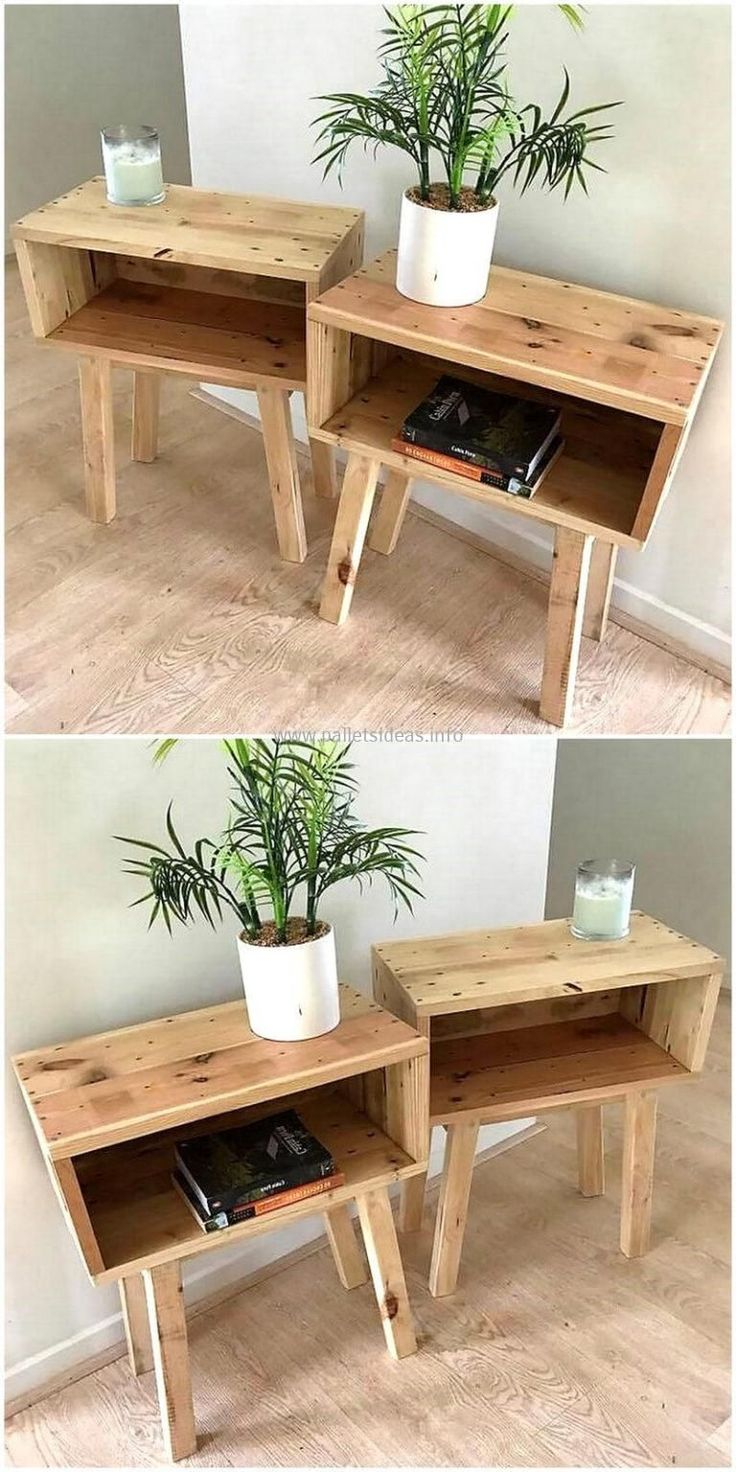 20 Unique Wooden Pallet Ideas You'll Love With #…