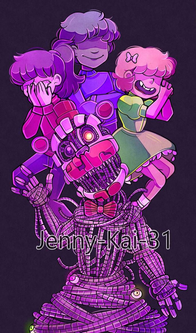 There S No More Elizabeth From Now It S Just Us By Jenny Kai 31 On Deviantart Fnaf Drawings Fnaf Fnaf Characters