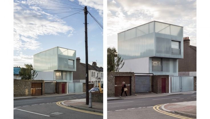 Slip House/設計手法:理性線條 1.Stephen Lawrence Prize 2013| Shortlisted 2.One Off House Architect of the Year winner