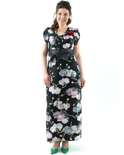 Платье 196605 черное