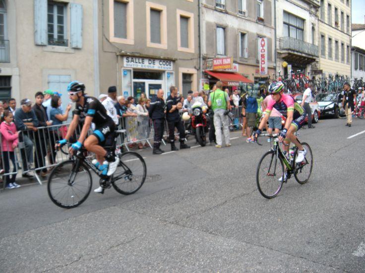 Tour de France 2014 16e étape départ Carcassonne-->Bagnères-de-Luchon