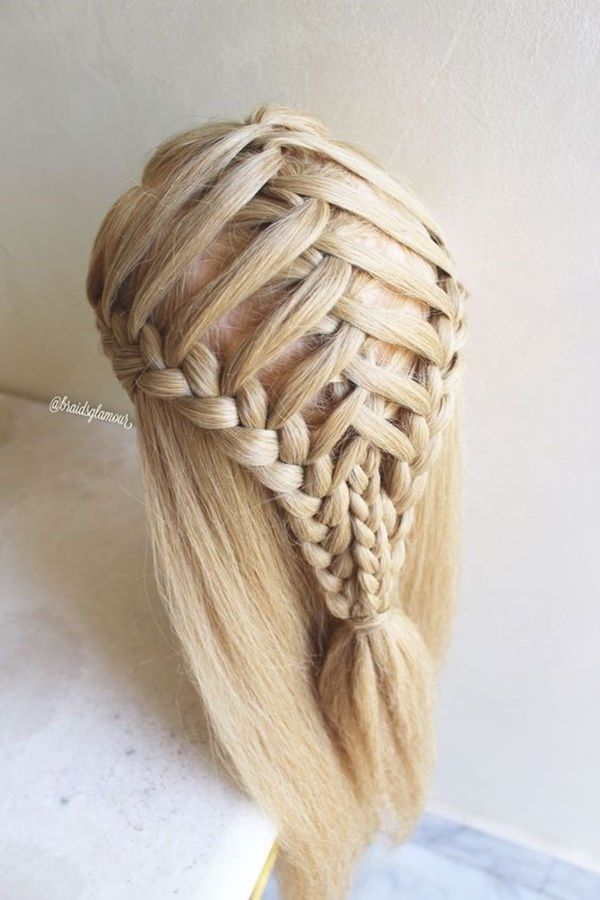 123 Schone Wasserfall Braid Frisuren Mit Tutorial Braid Frisuren