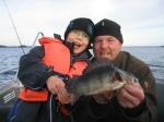 Fishing in Lake Saimaa. Savonlinna, Finland.