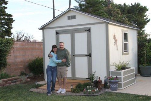 Dame Outdoor Free Access Storage Shed Landscaping Ideas