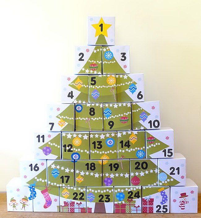 Адвент-календарь. | Детский праздник своими руками