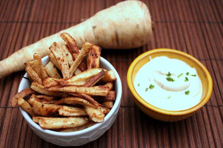 Recept: Pastinaak patat uit de oven
