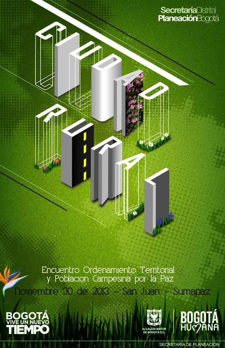 Poster city rurality. Proposal