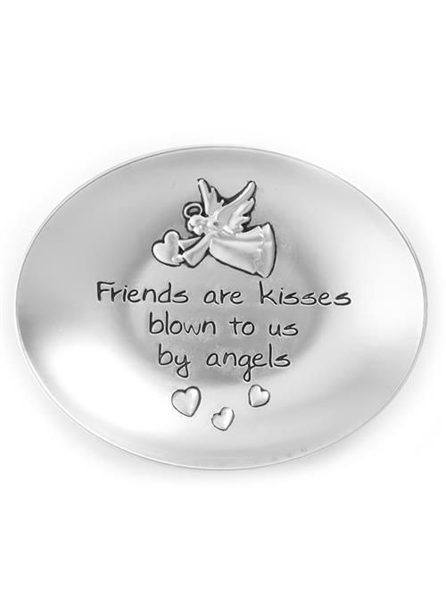 Trinket Dish - Friends are like Kisses