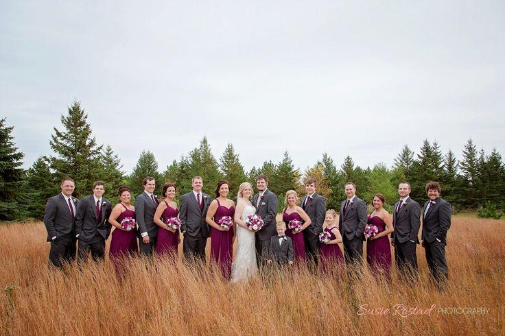 Fall Wedding #plum, #fall www.susierostadphotography.com