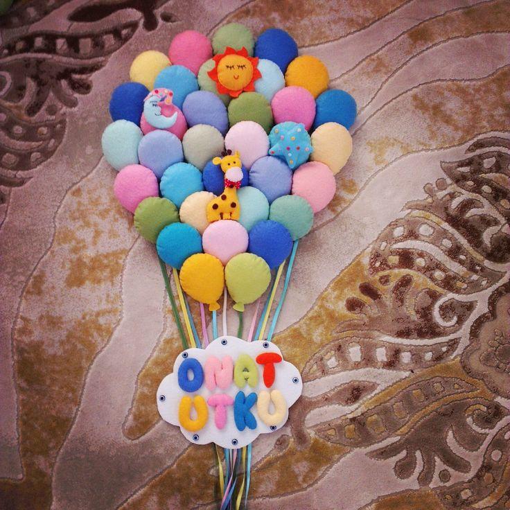 Baloon Balon kapı süsü
