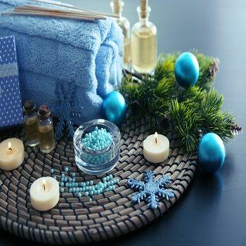 Odrobina  świątecznych inspiracji do łazienki ;-) Skorzystajcie i Wy ;-)