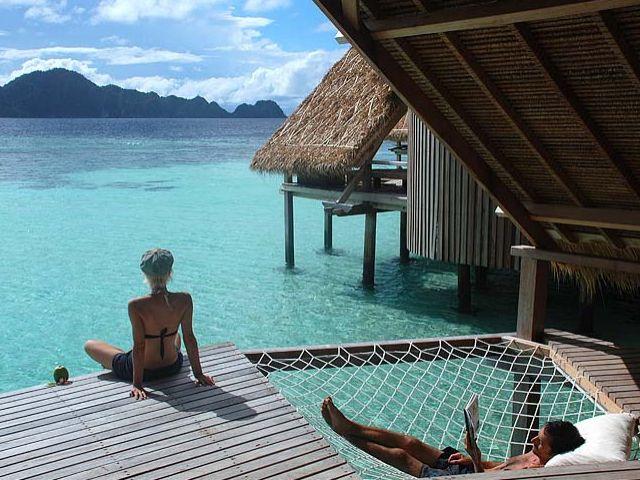 Misool Resort. Indonesia