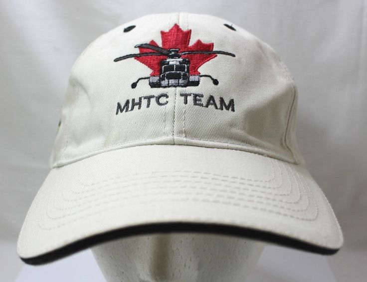MHTC Team Helicopter Pilot Hat PCL Logo Zero Incidents Safety Award Hat