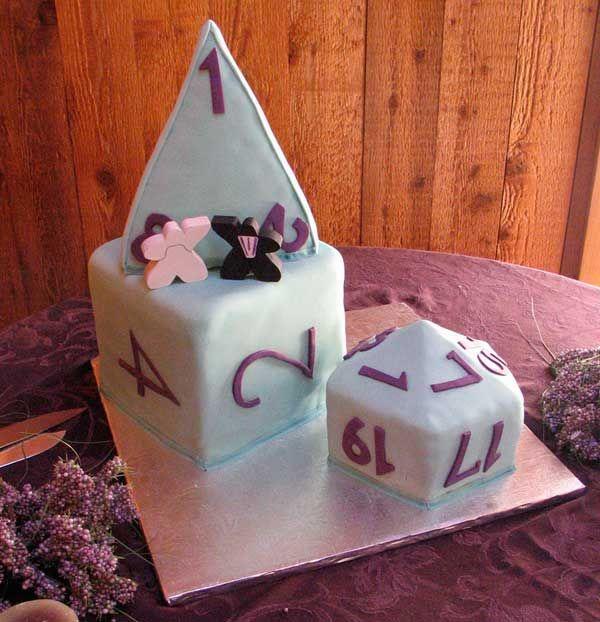 Dice Grooms Cake?