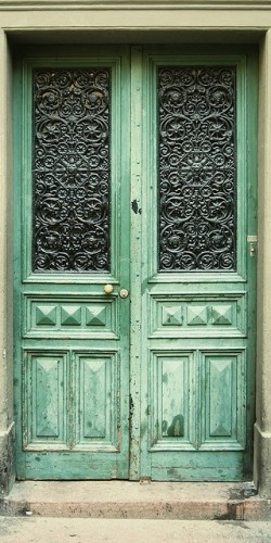 green french doors doors pinterest doors french